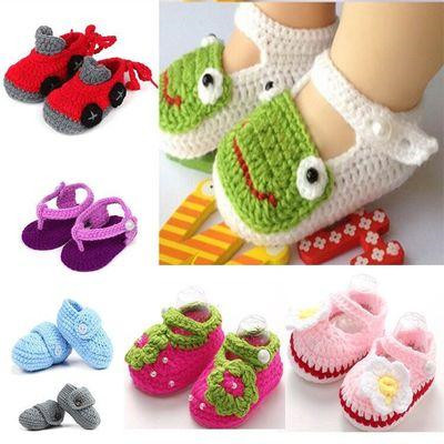 From cute knitted baby booties to baba 3d knitted shoes